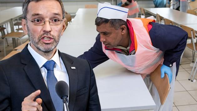 Kickl Deckelt Löhne Für Flüchtlinge Mit 150 Euro Kroneat