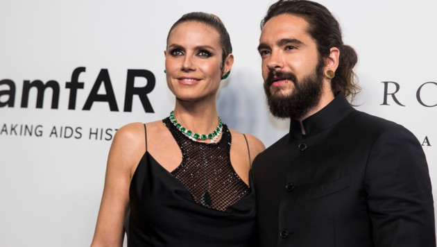 Heidi Klum und Tom Kaulitz besuchen die amFAR-Gala in Hongkong (Bild: AFP)