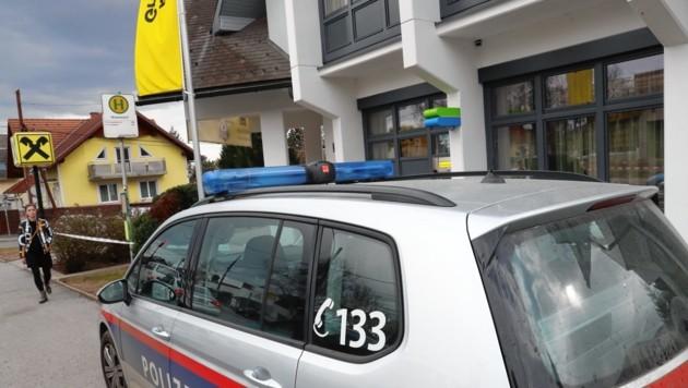 Diese Bank in Graz-Wetzelsdorf wurde am 1. März überfallen. (Bild: Sepp Pail)