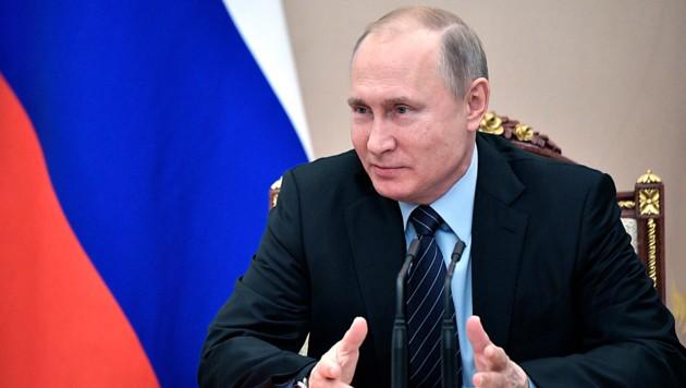 Kremlchef Wladimir Putin (Bild: AP)