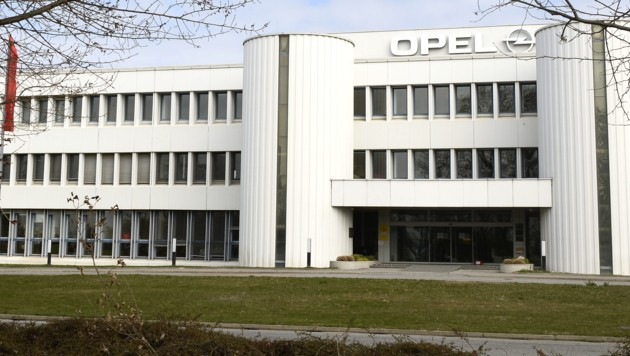 Die Opel-Getriebe- und Motorenfabrik in Wien-Aspern (Bild: APA/Herbert Pfarrhofer)