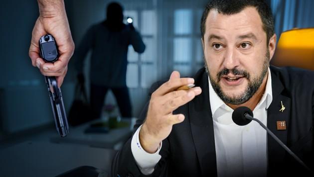 Italien: Griff zur Waffe bei Notwehr nun legitim