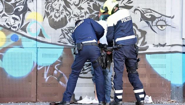 Der Lenker wurde nach seiner mehr als eine Stunde andauernden Irrfahrt festgenommen.