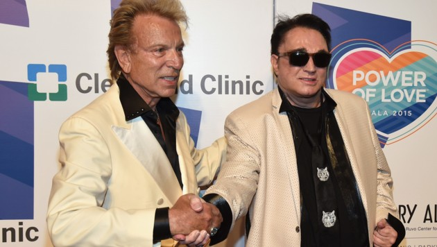 Siegfried und Roy (Bild: 2015 Getty Images)