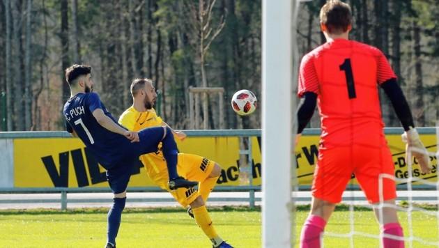 Der SAK mit Goalgetter Jukic (gelb) fängt noch nicht mit dem Training an. (Bild: Daniel Krug sen.)