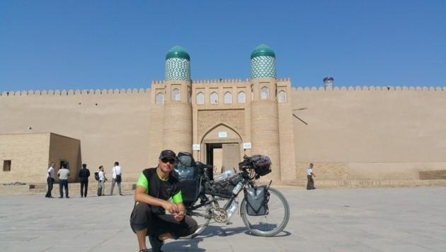 In Usbekistan (Bild: Edwin Schmidt)