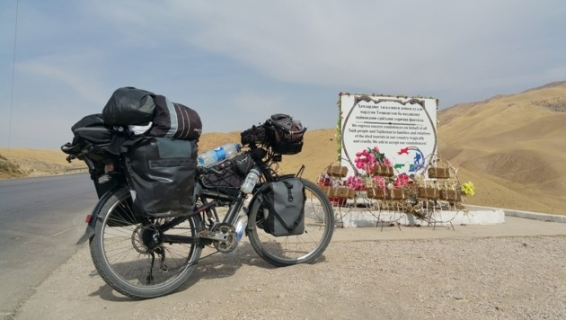 Denkmal für die Opfer der Terrorattacke in Tadschikistan (Bild: Edwin Schmidt)