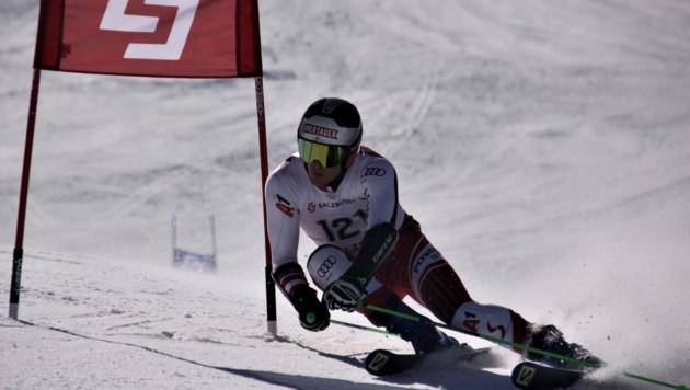 Siegte beim Finale in Großarl: Christopher Neumayer (SC Radstadt) (Bild: SLSV)