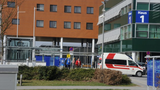 Krankenhaus Steyr (Bild: Hannes Markovsky)
