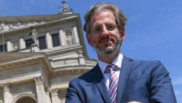 Stephan Pauly, bisher Intendant und Geschäftsführer der Alten Oper Frankfurt (Bild), wird der neue Intendant für den Wiener Musikverein. (Bild: APA/DPA/ARNE DEDERT)