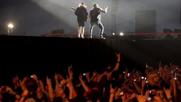 Im Jahr 2010 gab es in Wels große Aufregung rund um das Konzert von AC/DC. (Bild: rubra)