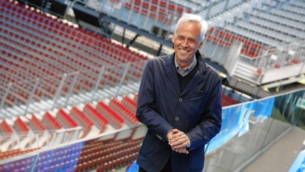 Klaus Littmann im Wörthersee-Stadion. (Bild: Rojsek-Wiedergut Uta)