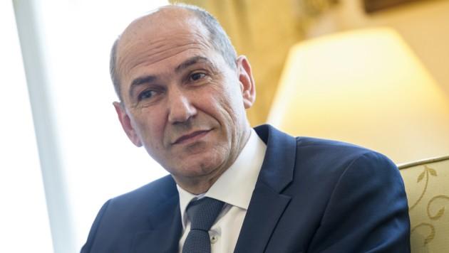 Janez Jansa (Bild: AFP)