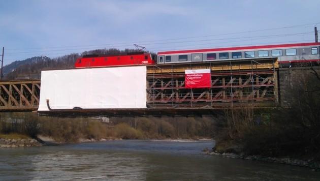 Taggerbrücke in Golling (Bild: ÖBB/Paul Hettegger)