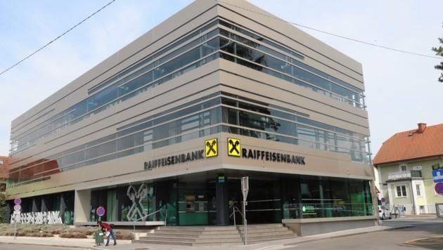 Die Raiffeisen-Filiale in Graz-St. Peter (Bild: Sepp Pail)