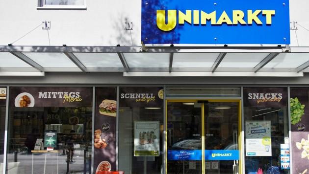 Eine von 125 Unimarkt-Filialen in Österreich. (Bild: www.gewefoto.com)
