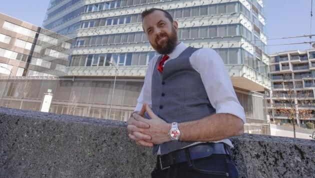 Der neue Obmann im Kassen-Turm: Thomas Kinberger. (Bild: Tschepp Markus)