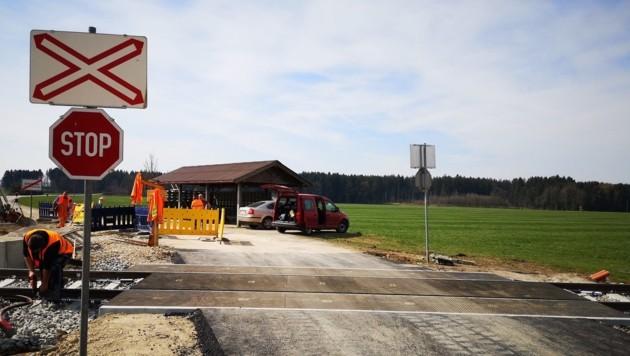 Bauarbeiten Achenlohe (Bild: ÖBB)
