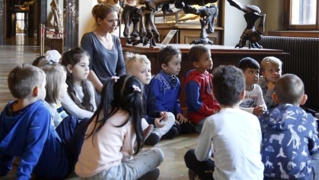 40 Kinder werden derzeit in der Alpensiedlung betreut (Symbolfoto). (Bild: Votava)