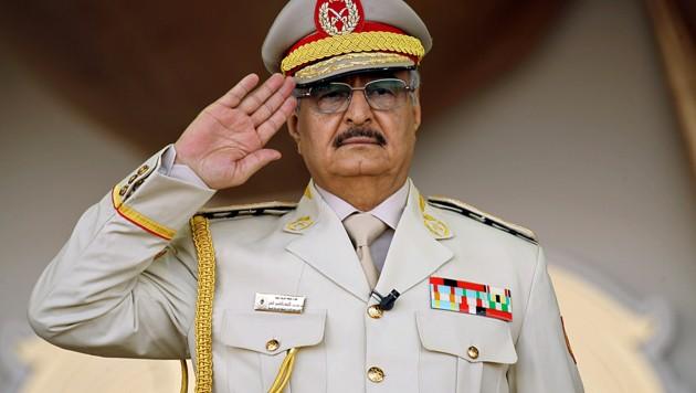 General Khalifa Haftar (Bild: APA/AFP/Abdullah Doma)
