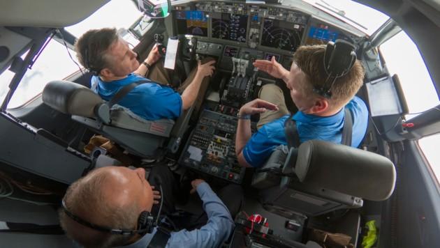 Das MCAS-Software-Update war auch bei Demo-Flügen der 737 MAX 7 im Einsatz. (Bild: AFP)