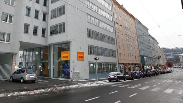 Die Schrannengasse wird im Abschnitt zwischen Faberstraße und Mirabellplatz neu asphaltiert. (Bild: MARKUS TSCHEPP)