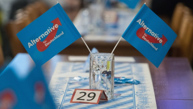 Die AfD war bei der Landtagswahl in Bayern im Oktober mit 10,2 Prozent erstmals in den Landtag eingezogen und schnitt als viertstärkste Kraft besser ab als die SPD. (Bild: APA/dpa/Armin Weigel)