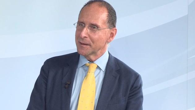 Politikwissenschaftler Peter Filzmaier (Bild: krone.tv)