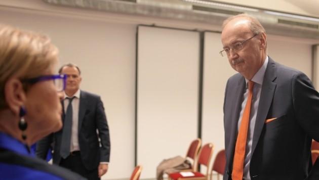 Ex-Direktor Wilhelm Marhold