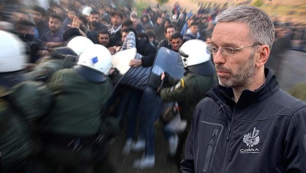 """Kickl: """"Werden Grenzen weiter kontrollieren"""""""