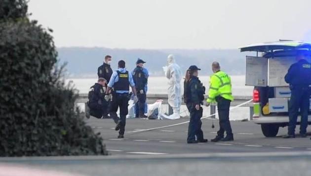 Der Tatort befindet sich auf einer Küstenstraße in Rungsted. (Bild: zVg)