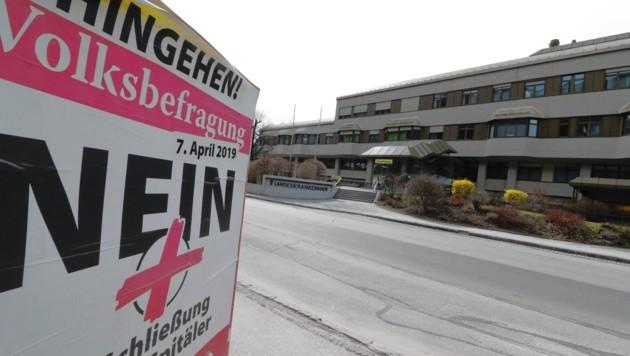 Das LKH Rottenmann soll 2025 geschlossen werden (Bild: Christian Jauschowetz)