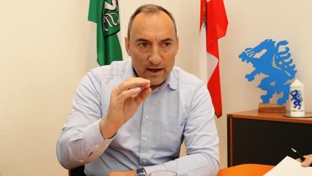Der Grazer Vizebürgermeister Mario Eustacchio (FPÖ) (Bild: Christian Jauschowetz)