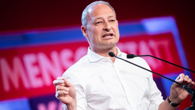SPÖ-Spitzenkandidat Andreas Schieder beim EU-Wahlkampfauftakt in Wien (Bild: APA/Georg Hochmuth)