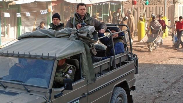 "2002: ""Krone""-Redakteur Christoph Matzl berichtete vom Afghanistan-Krieg. (Bild: Christoph Matzl)"