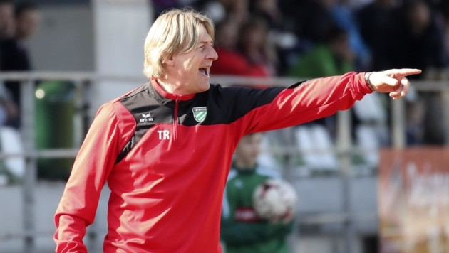 Grünau-Coach Franz Aigner will ein fixes ÖFB-Cup-Ticket erobern. (Bild: Tröster Andreas)