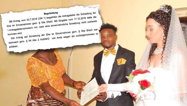 Festnahme vor Trauung: Braut ist schon verheiratet