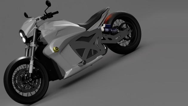 (Bild: Evoke Motorcycles)