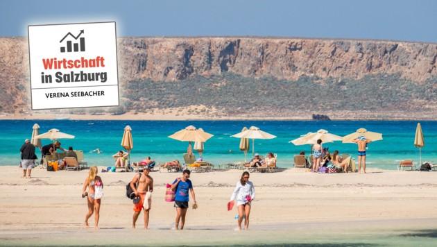 Auch Kreta ist heuer als Urlaubsziel wieder hoch im Kurs (Bild: mauritius images / Hans Blossey /)