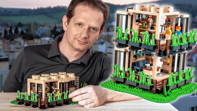Wiener Gewinnt Bewerb Mit 1400 Bunten Lego Steinen Kroneat