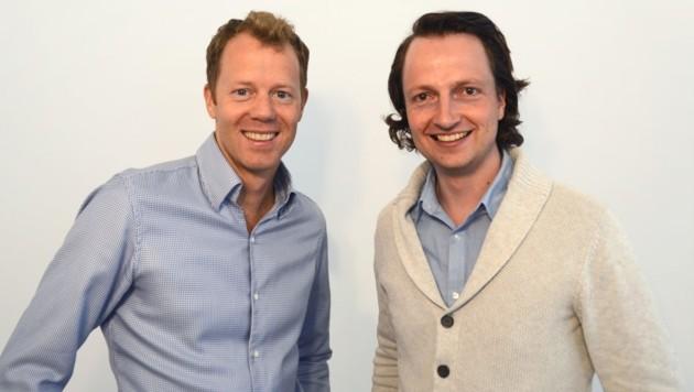 Stefan Pinngera und Georg Reich (Bild: Check Yeti)