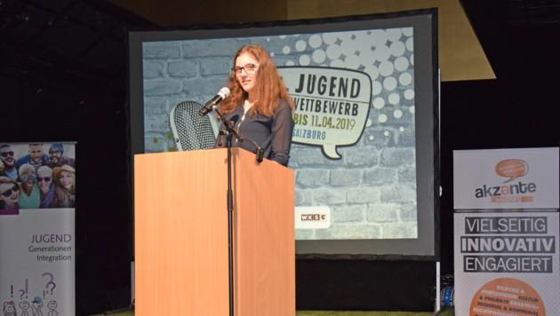 Acht Minuten haben die Jugendlichen Zeit, die Jury zu überzeugen. (Bild: Land Salzburg/Monika Rattey)