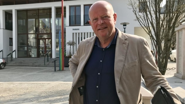 Konrad Pieringer wird am Donnerstag als Bürgermeister angelobt. (Bild: Roittner Felix)