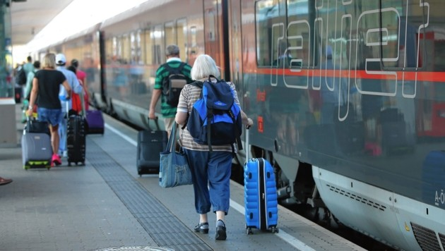 24 statt 14 Stunden war eine Wiener Familie mit dem Zug nach Rom unterwegs (Symbolbild). (Bild: Kronen Zeitung/Peter Tomschi)