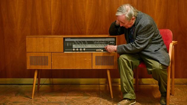 """""""Faltenrock FM"""" , ein tolles Radioprojekt, bei dem ältere Menschen aus ihrem Leben berichten. (Bild: Caritas)"""