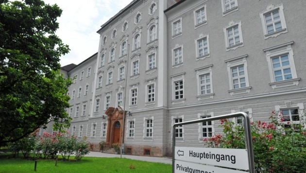 Privatgymnasium Borromäum, Salzburg Gaisbergstraße (Bild: KRONEN ZEITUNG)