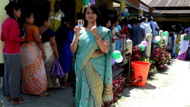 900 Millionen Inder wählen neues Parlament