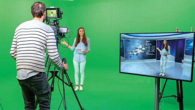 In unserem Greenroom haben wir im TV-Sektor viel vor. (Bild: Dominik Kaltenböck)