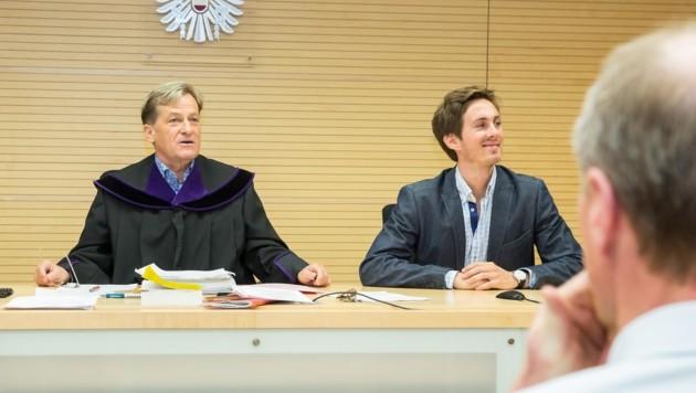 Der Vize-Wahlleiter vor Richter Josef Geisler (Bild: Christian Forcher)