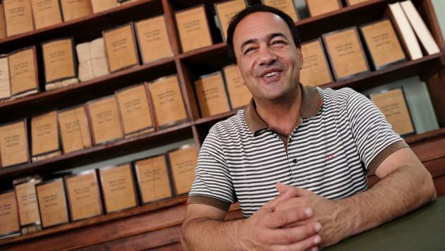 Lucano wurde 2010 zum weltweit drittbesten Bürgermeister gekürt. (Bild: AFP/Mario Laporta)